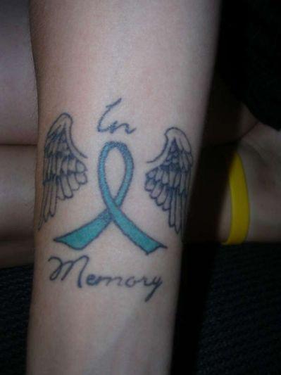 45 Memorial Angel Tattoos Ideas Cancer Ribbon Tattoos Tattoos For Dad Memorial Memorial Tattoos