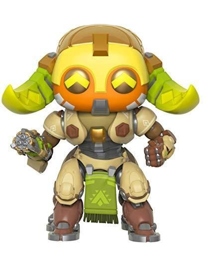 Ana and Super-Sized Orisa Funko Pop Hanzo Bundle of 6: Overwatch Torbjorn Genji Doomfist