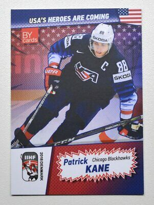 Patrick Kane Team Usa Team Usa Kane Blackhawks Hockey Cards
