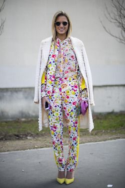 topshop:   Flower go flashy and bloom all over.