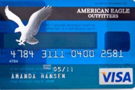 American Eagle Credit Card Sign In >> American Eagle Credit Card American Eagle Credit Card