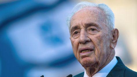 Künstlichen Koma nach Schlaganfall?: Peres liegt auf der Intensivstation