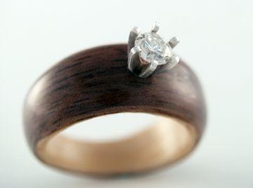 Gallery Of Custom Wood Rings Simply Wood Rings Wooden Rings Engagement Wooden Wedding Ring Alternative Engagement Rings