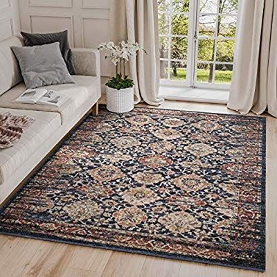 Amazon Com Abani Vintage Pattern Area Rug 5x7 100