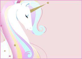 unicorn invitation card unicorn