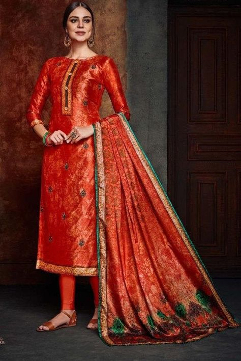 Indian Pakistani Pure Silk Salwar Kameez with Fancy Heavy Embroidery work fancy party wear collection