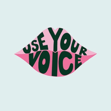 Use Your Voice Art Print by jodifeddon Protest Posters, Protest Art, Quotes About Motherhood, Power To The People, Feminist Art, Your Voice, Picture Wall, Photo Wall, Black Art