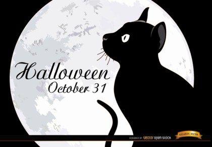 30 Cat Silhouette Vectors Download Free Vector Art Graphics 123freevectors Schwarze Katze Katzen Poster Katzen Tapeten