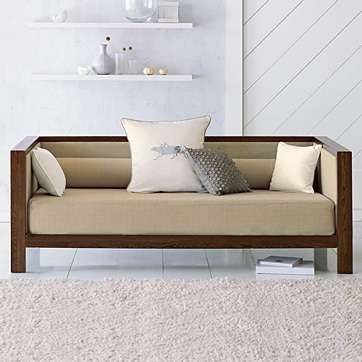 The Brilliant Wooden Daybed Frame Best Ideas About Wooden Daybed On Pinterest Rustic Daybeds Is One Of Pictures Of Wooden Daybed Wooden Sofa Designs Furniture