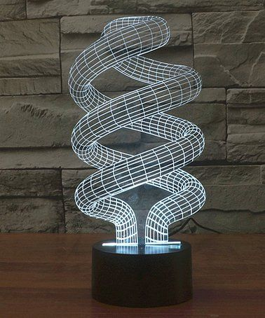 Love This Swirl 3d Optical Illusion Color Changing Led Lamp By Mercer On Zulily Zulilyfinds 3d Led Lamp 3d Illusion Lamp Color Changing Led