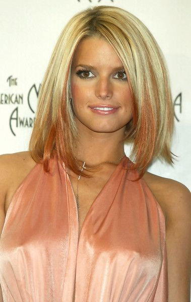 Jessica Simpson Then - Celebrity Red Carpet Beauty Looks Then and Now - Photos