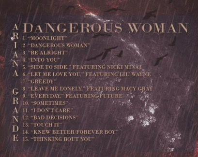 Pin On A Era Ariana Dangerous Woman 2016 2018