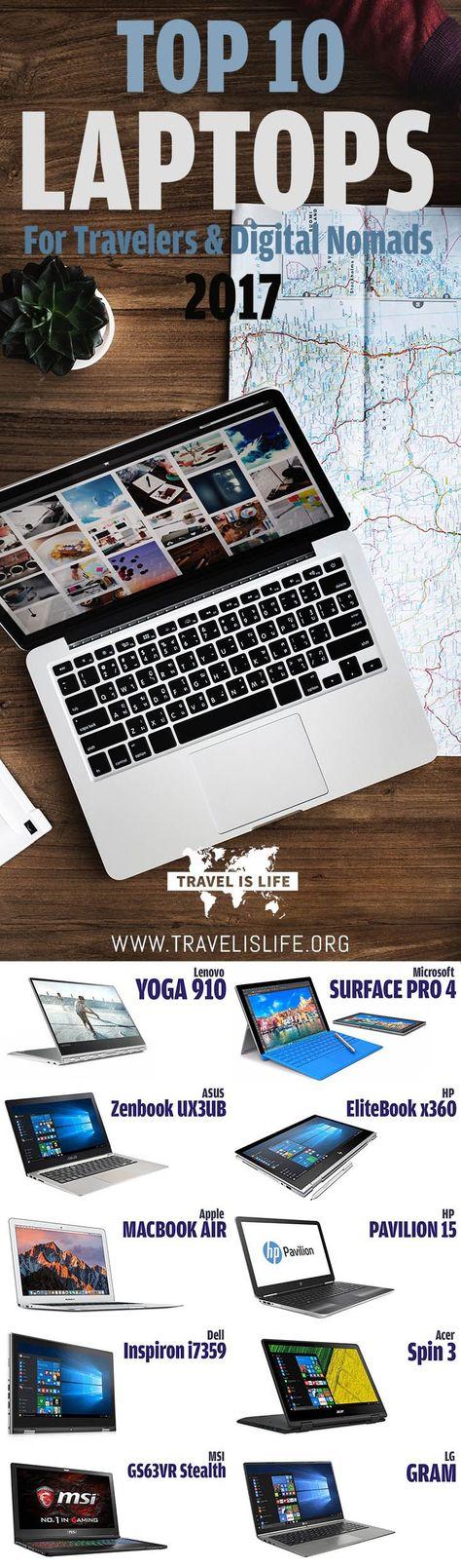 Best Travel Laptops for Digital Nomads & Traveling Freelancers (2017)
