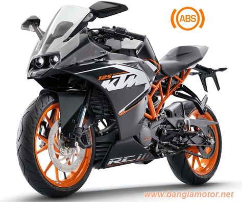 Ktm Rc 125 Also An Entry Level Motorcycle From Rc Series Of