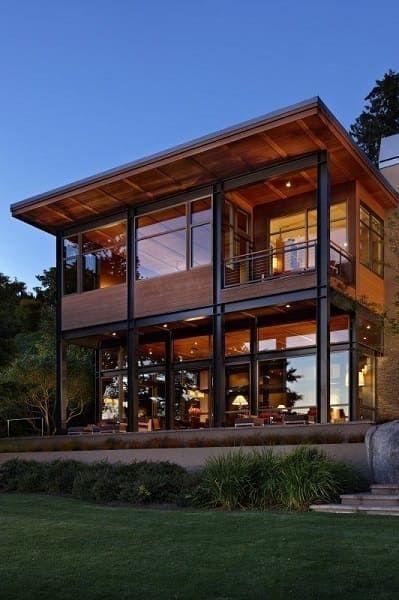 Metallic Structure Advantages And Disadvantages 26 Gorgeous Examples Em 2020 Casa De Arquitetura Casas Com Estrutura De Aco Arquitetura De Casa
