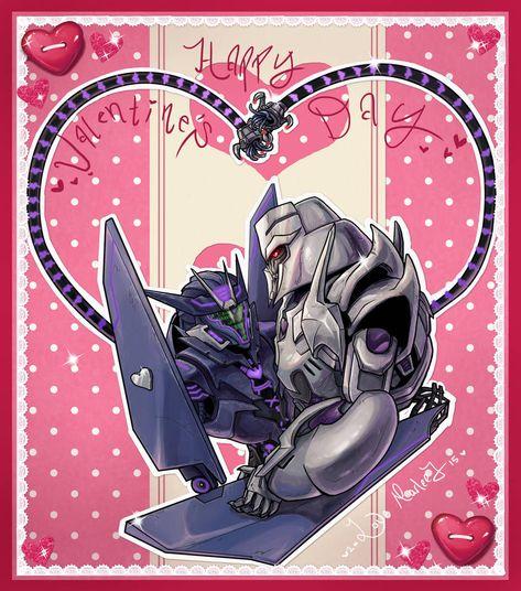 Megawave Valentine by Kikane | Megatron x soundwave