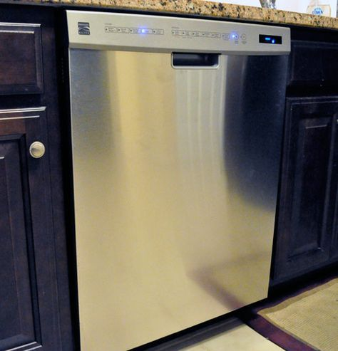 How To Remove A Dishwasher And Install A New One Home Repairs Cleaning Hacks House Cleaning Tips