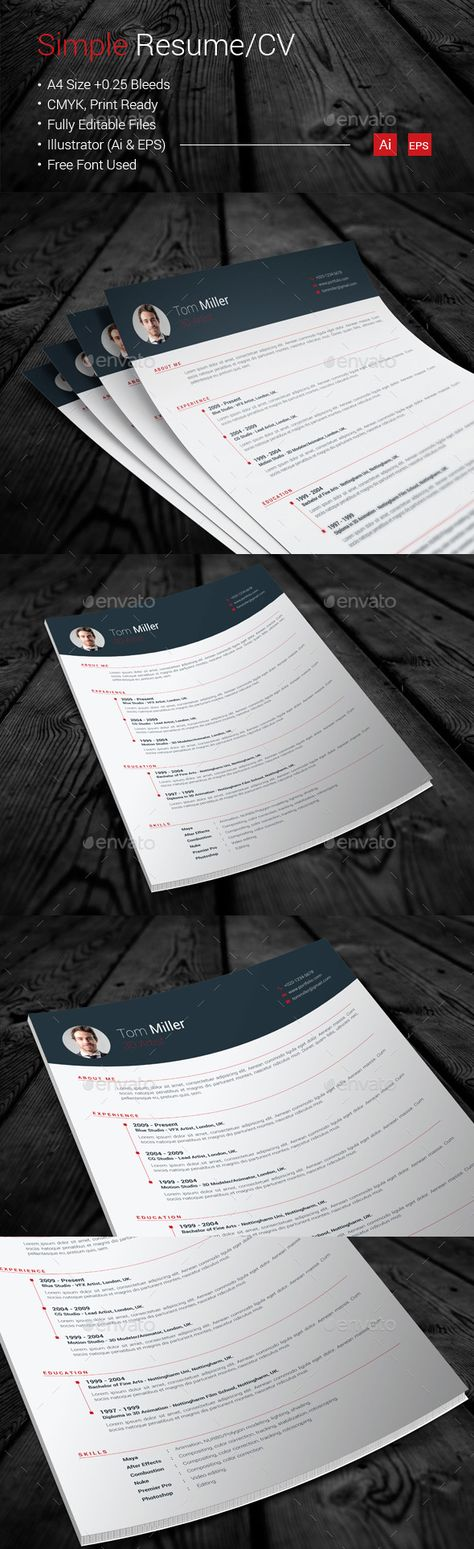 Fine Resume Booklet Template Adornment   Resume Template .