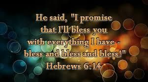 Hebrews 6:14 (KJV) 14 Saying, Surely blessing I will bless thee, and multiplying I will multiply thee. | Proverbs 13, Proverbs, Sayings
