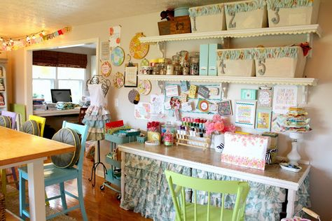 Raising up Rubies: a craft room update ... ♥