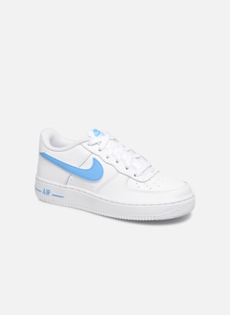 online retailer 83171 45645 Nike Air Force 1-3 (Gs) (Blanc) - Baskets chez Sarenza (352779)  sneakers   nike  airforceone  af1