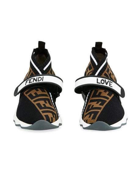 Fendi Rockoko FF Knit Sneakers | Women