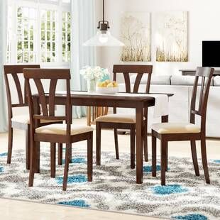 White Cane Outdoor Furniture, Darby Home Co Elosie 5 Piece Counter Height Dining Set Wayfair 5 Piece Dining Set Counter Height Dining Sets Dining Set