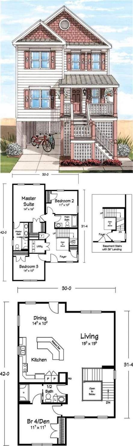 How To Make Basement Sims 4 : basement, Ideas, House, Plans, Beach, Basements, Plans,, Design,, Building