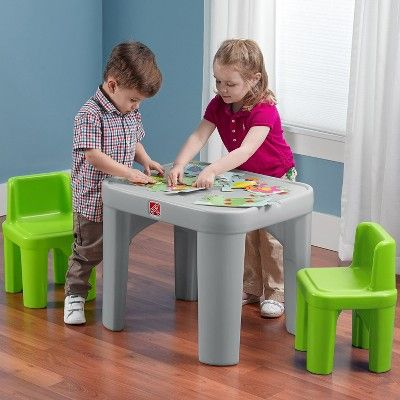 Step2 Mighty My Size Table And Chairs Set Table And Chair Sets