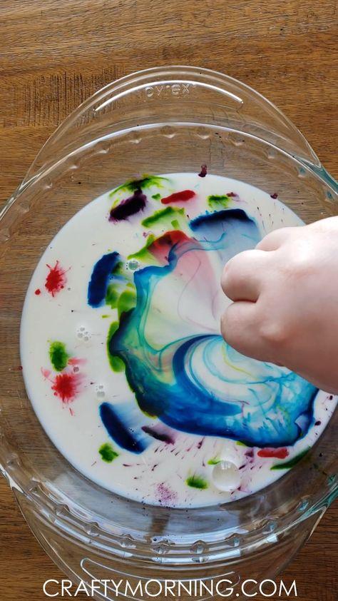 Magic Milk Science Experiment