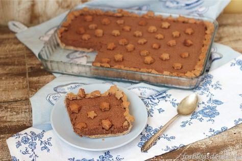 Tarta Mousse De Chocolate Sobre Galletas Mousse De Chocolate