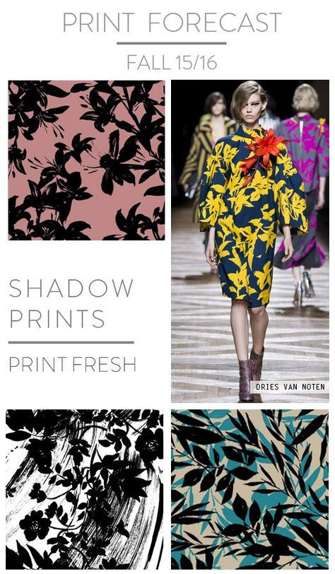 Printfresh - Fall Trends - Shadow Prints