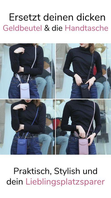 Nach diesem Clutch Wallet brauchst du keine Handtasche & Geldbeutel mehr! 3in1 Clutch für die Modebewusste Frau von heute.