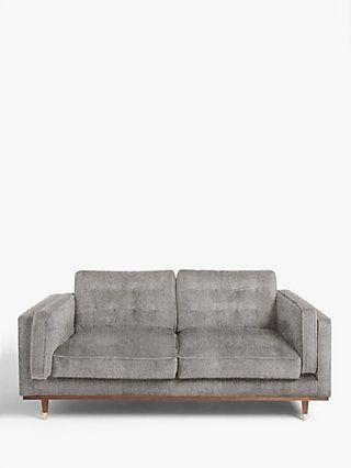 John Lewis Partners Swoon Lyon Medium 2 Seater Sofa Cinder Grey 2 Seater Sofa Sofa Seater