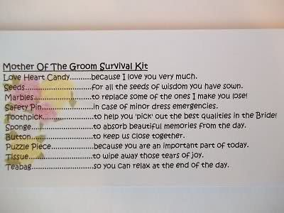 Survival Kit Template Images - Template Design Ideas