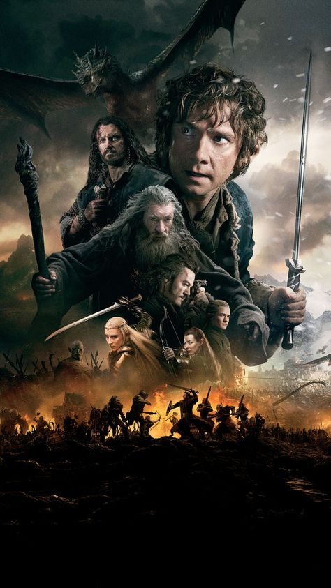 The Hobbit: The Battle of the Five Armies (2014) Phone Wallpaper   Moviemania