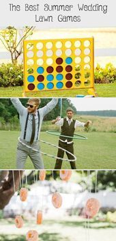 The best summer wedding lawn games  You and Your Wedding #EntertainmentCenter ##...,  #EntertainmentCenter #Games #Lawn