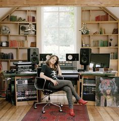 My portrait of KT Tunstall in her recording studio is currently on show at the National Portrait Gallery! Alongside a number of other photographer's including the very talented Mr Spencer Murphy, good...