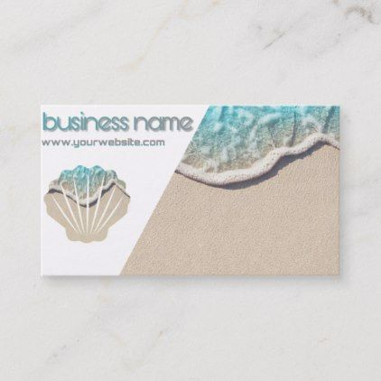 Sea Chart Visits Business Card Zazzle Com Ocean Gifts Cards Seashell Gift