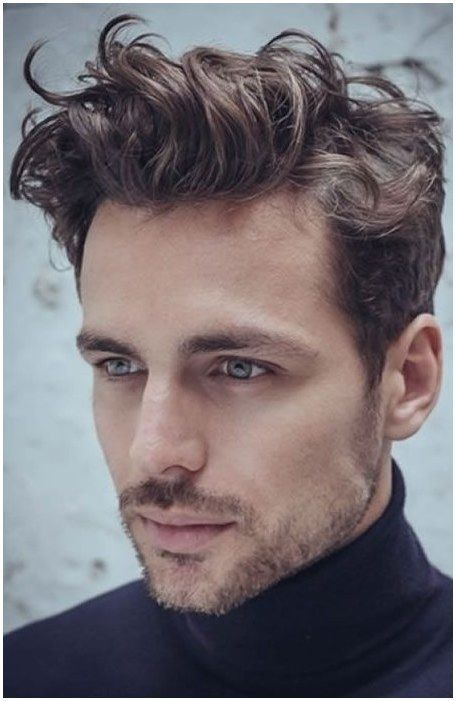 Short Quiff Haircut For Men Longmenshair Click Image For Info Curly Hair Men Mens Hairstyles Short Wavy Hair Men