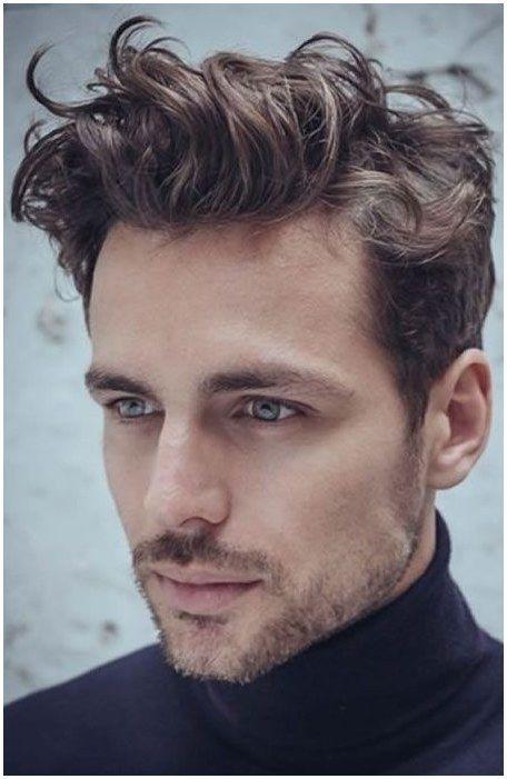 Short Quiff Haircut For Men Longmenshair Click Image For Info Curly Hair Men Wavy Hair Men Mens Hairstyles Short
