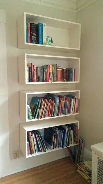 Bookcase 10 Mind Blowing Diy Floating Shelves Bookcase On Wall Designs Ikea Wall Mounted Bookcase Bookcase Hung O With Images Bookshelves Diy Kitchen Wall Shelves Shelves