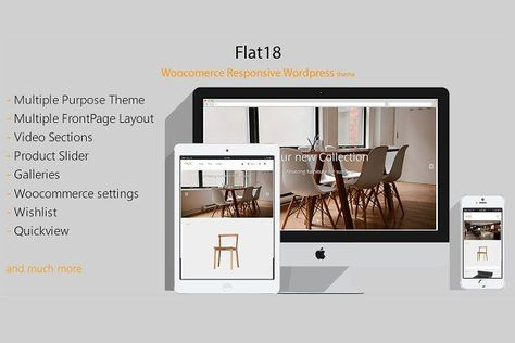 Flat18 - Woocomerce Wordpress Theme