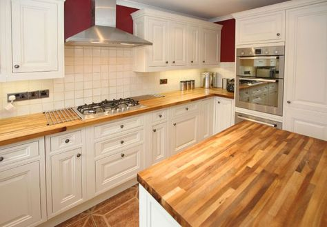 Laminate Countertops That Look Like Wood I Think Would This If Did Lighter Cabinets In Beige Or Grey