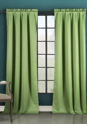 Duck River Textile Liam Solid Blackout Curtain Sage 84