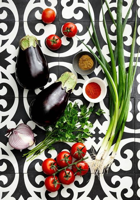 Eggplant / via The Design Files