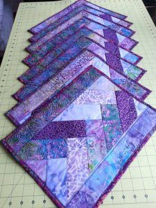Modern Quilted Placemat Pattern Quilted Placemat Patterns Placemats Patterns Quilted Table Runners Patterns