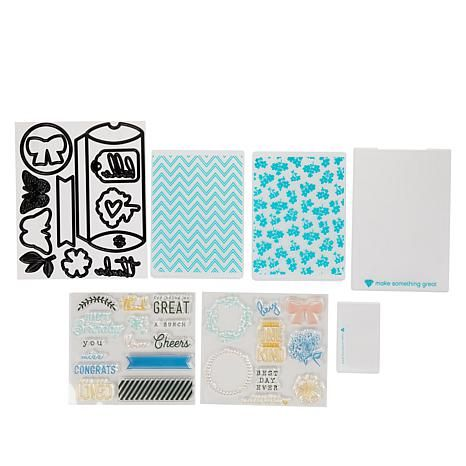 Diamond Press Pillow Box Stamp And Die Set 9399037 Hsn In 2020 Pillow Box Stamp Embossing Folders