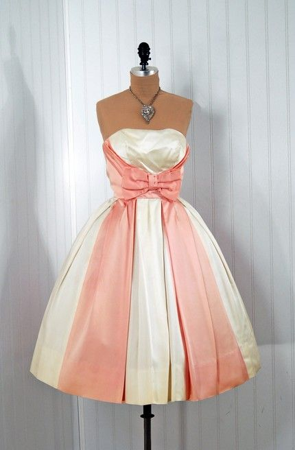 1950's vintage gowns.