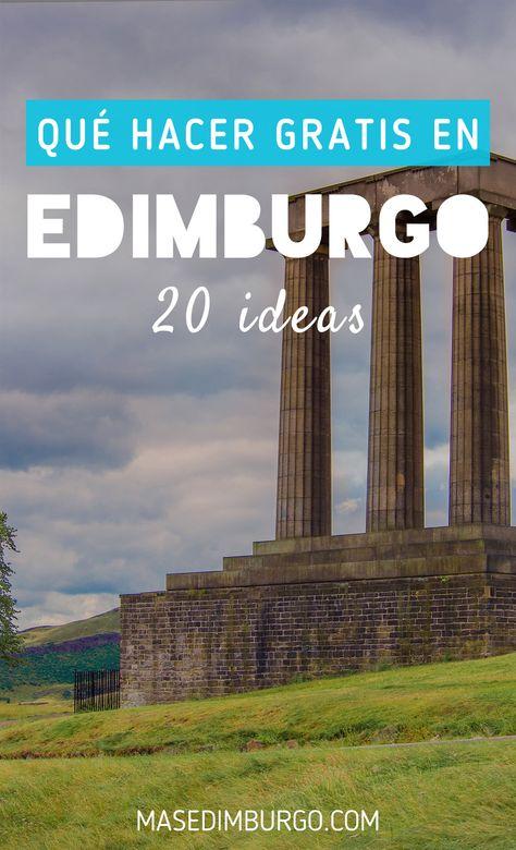 Qué hacer gratis en Edimburgo